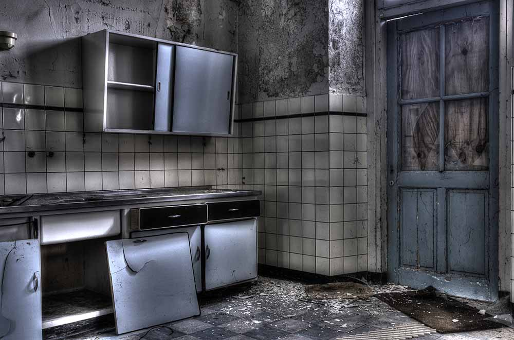 Ineke Nientied, The old kitchen